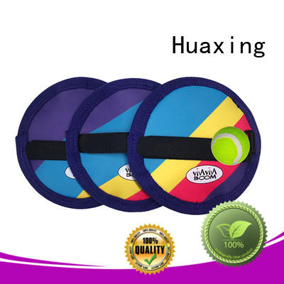Huaxing colorful neoprene beach paddle beach for children