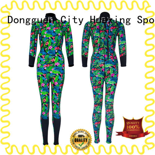 Huaxing full wetsuit supplier for paddle sports