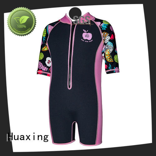 Huaxing body long sleeve wetsuit for lake activities