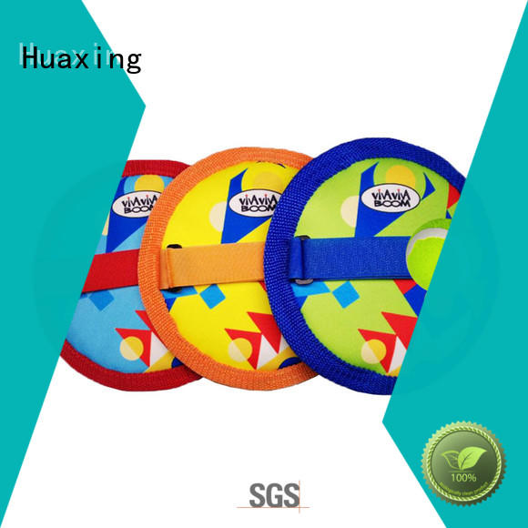 Huaxing good looking beach paddle ball game from china for sea