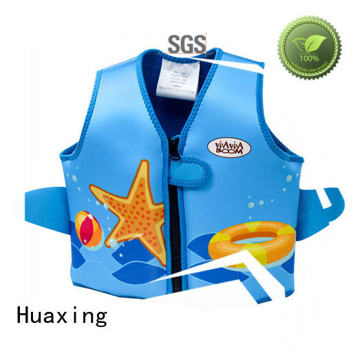 lycra puddle jumper swim vest for swimming Huaxing
