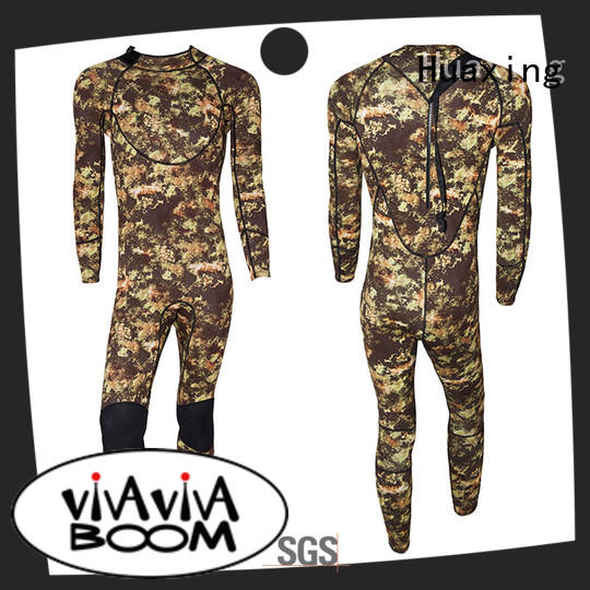Huaxing print female wetsuit bulk production for lake activities