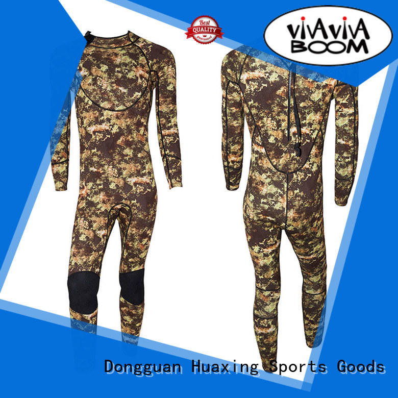 Huaxing fit ladies wetsuit owner for lake activities
