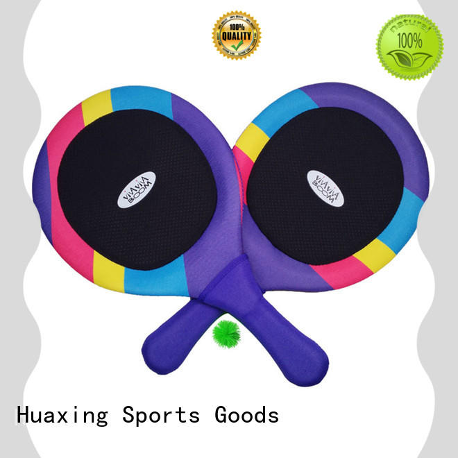 best beach tennis rackets neoprene manufacturer for children
