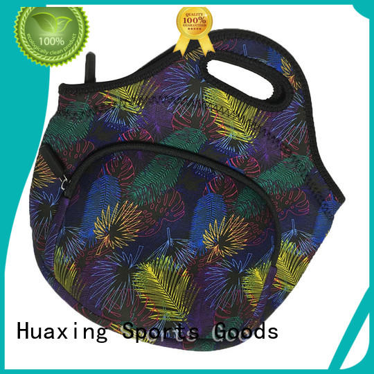 Huaxing trip neoprene tote bag from china for computer
