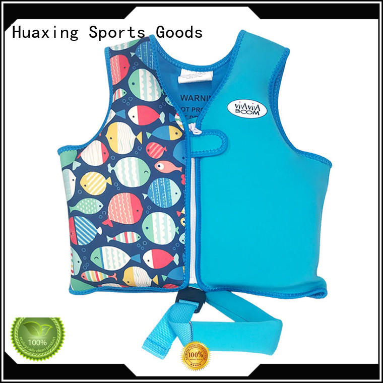 Huaxing buoyancy boys swim vest from manufacturer for swimming