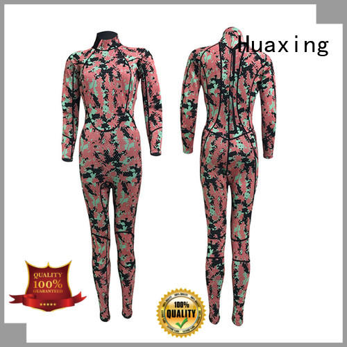 Huaxing perfect girls wetsuit in china for paddle sports
