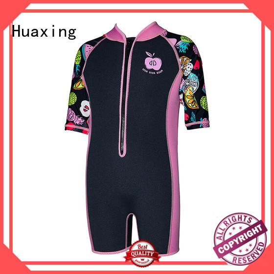 High quality 2mm kids neoprene wetsuit custom print kids diving suit