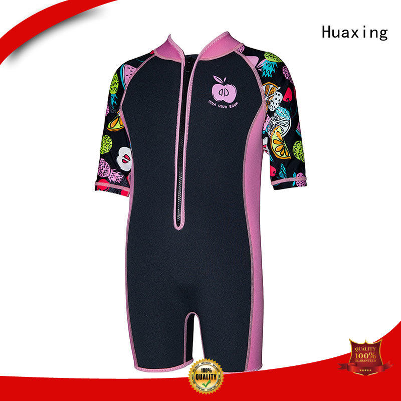 Huaxing zipper womens shorty wetsuit manufacturer for paddle sports