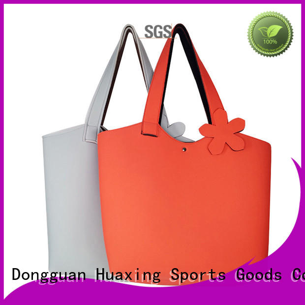 Huaxing bags neoprene tote producer for computer