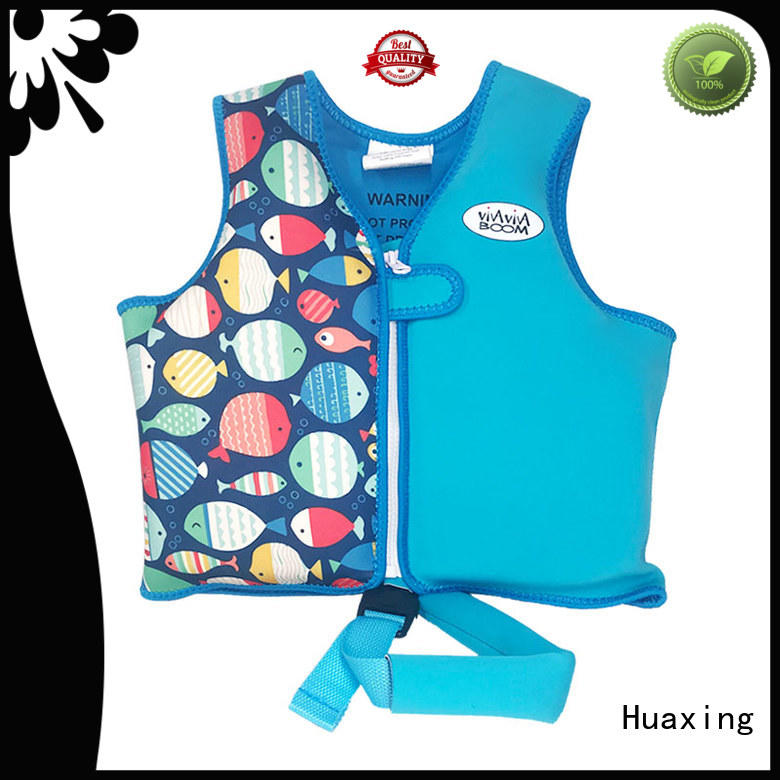 Huaxing perfect swim vest bulk production for swimming