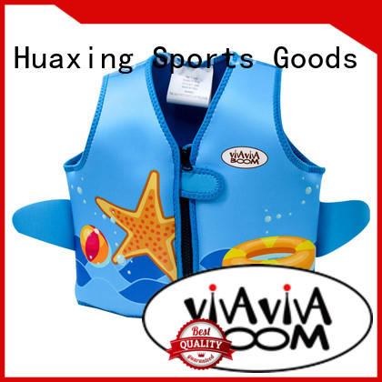 Huaxing soft youth swim vest bulk production for swimming
