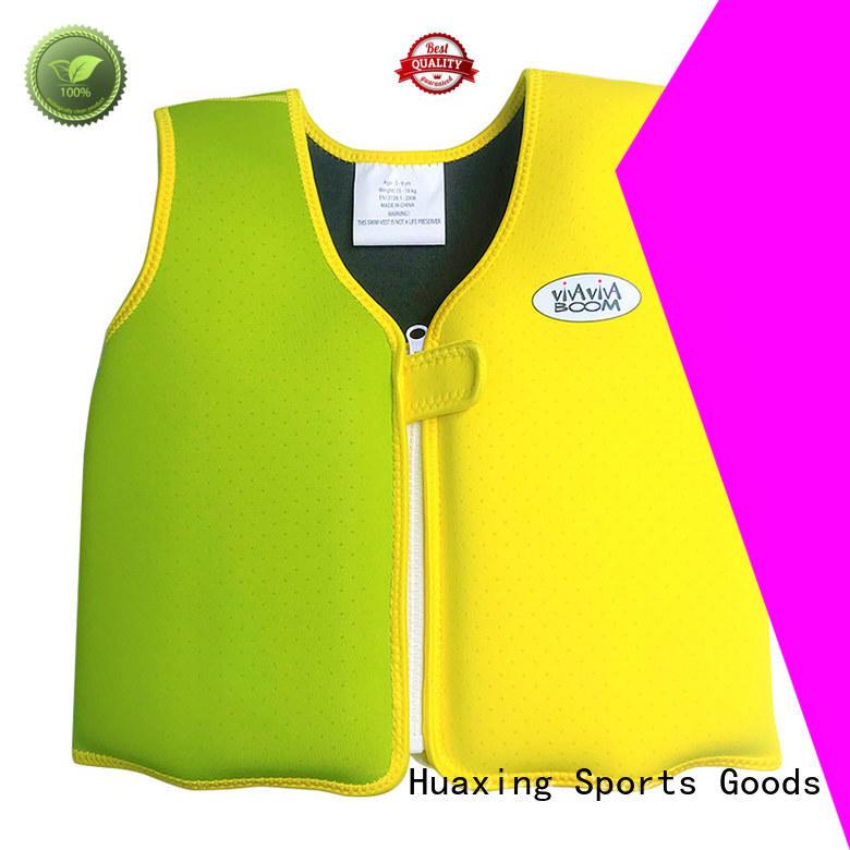 Factory directly supply swim vest for kids high quality neoprene kids swim vest VC001JS03