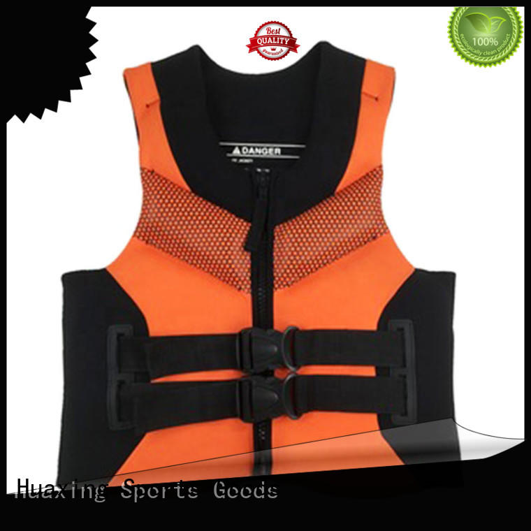 Huaxing cartoon toddler swim vest producer for swimming