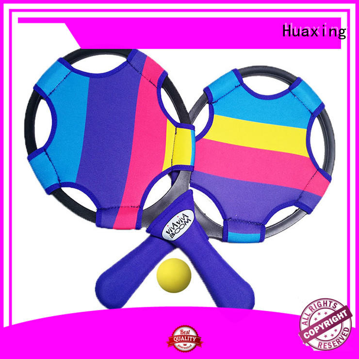 Huaxing fashion design beach toys and games vendor for beach game