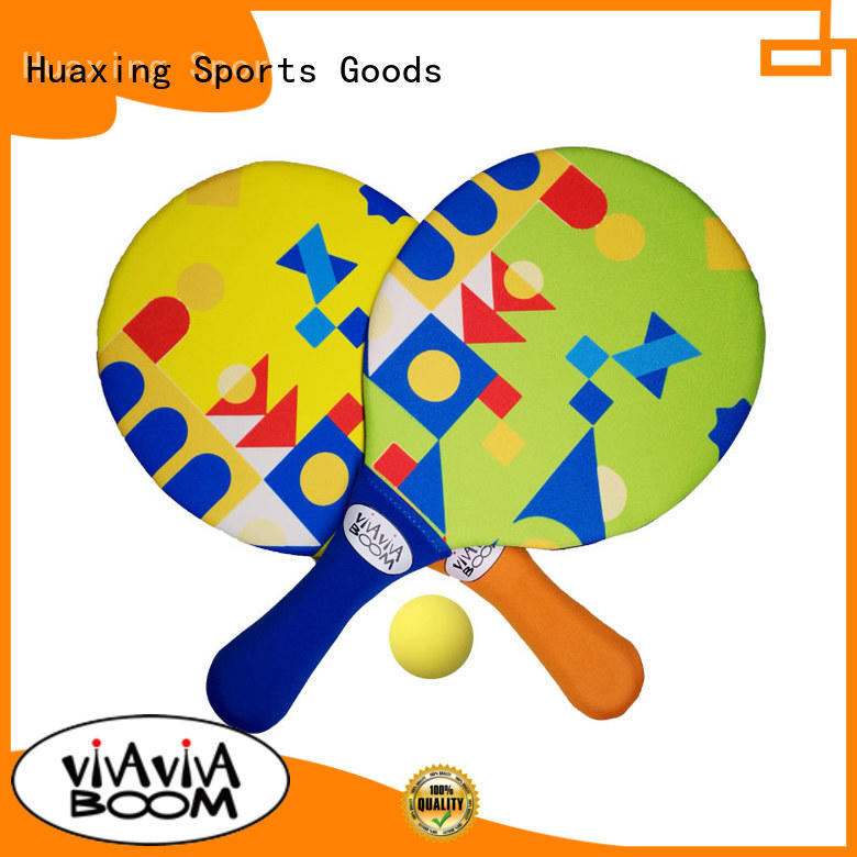 colorful beach paddle ball wholesale for sea