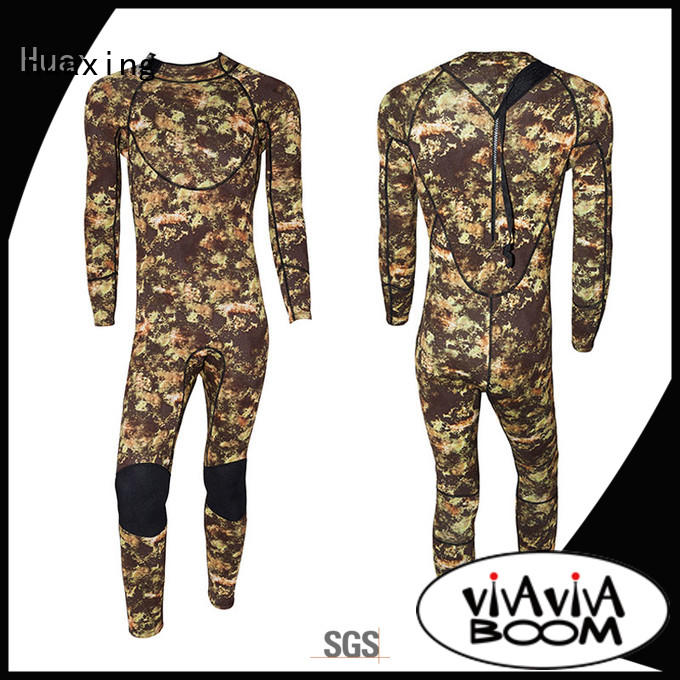 Huaxing fashion design childrens wetsuits producer for surfing