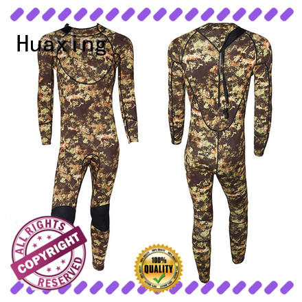 Huaxing colorful 5mm wetsuit from china for diving