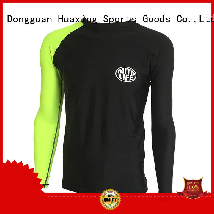 fit rash guard for girls mens factory price for stand up paddle surfing