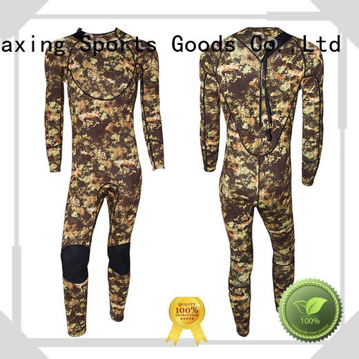 Huaxing surfing pattern wetsuit producer for paddle sports