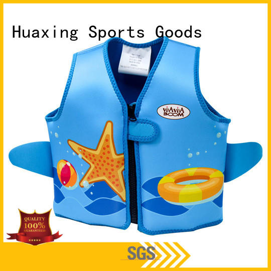 Huaxing training youth swim vest vendor for swimming
