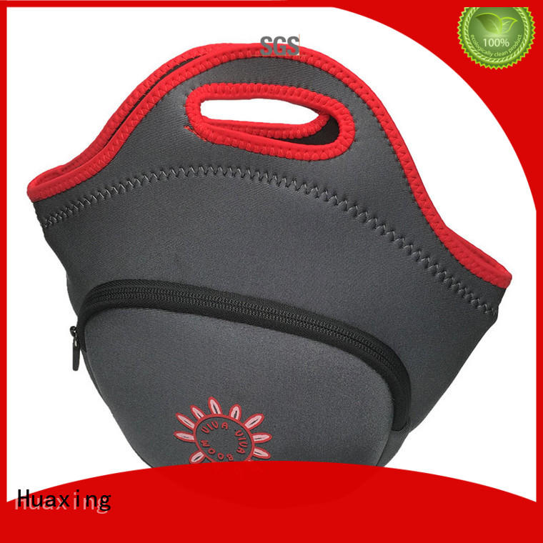 in different shapes neoprene tote trip from china for children