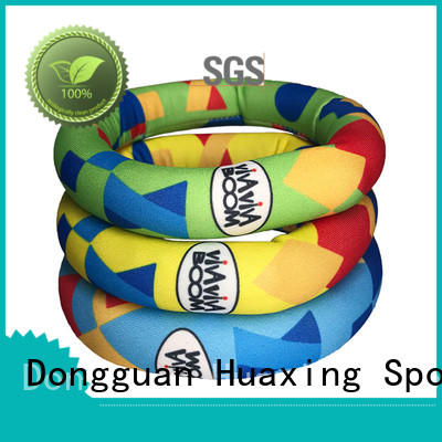 Huaxing colorful neoprene dog toys mini for children