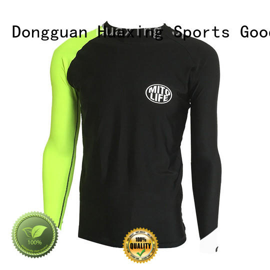 Huaxing baby boys rash guard for windsurfing