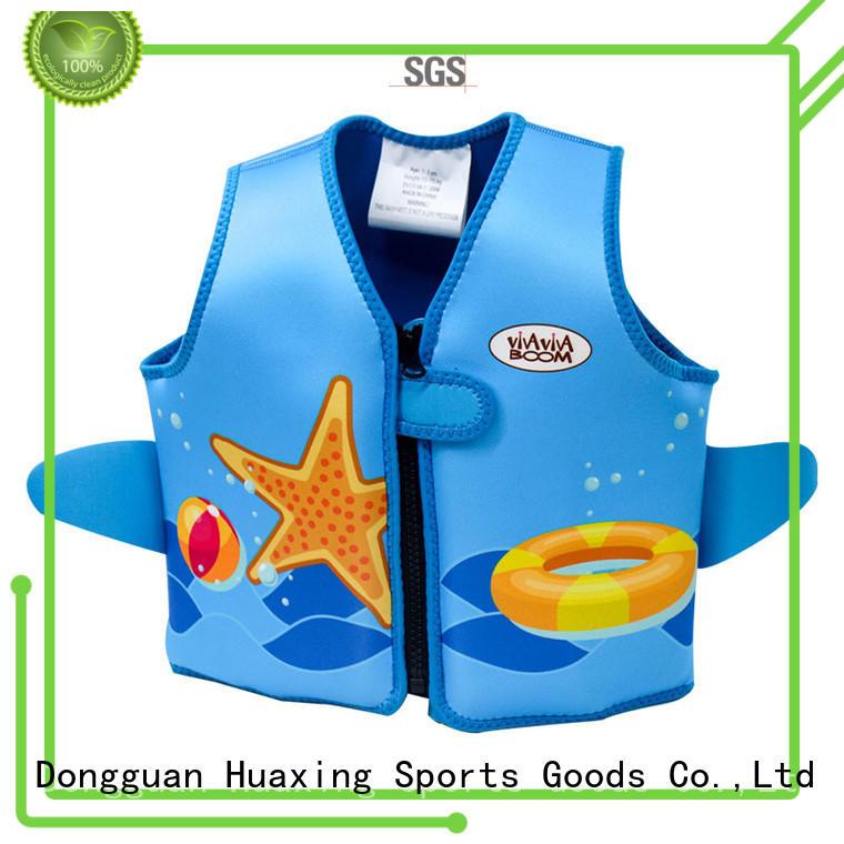 Huaxing swimschool infant swim vest bulk production for swimming