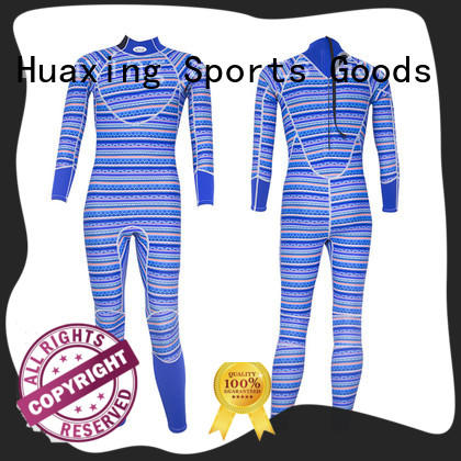Huaxing stretch mens wetsuit manufacturer for diving