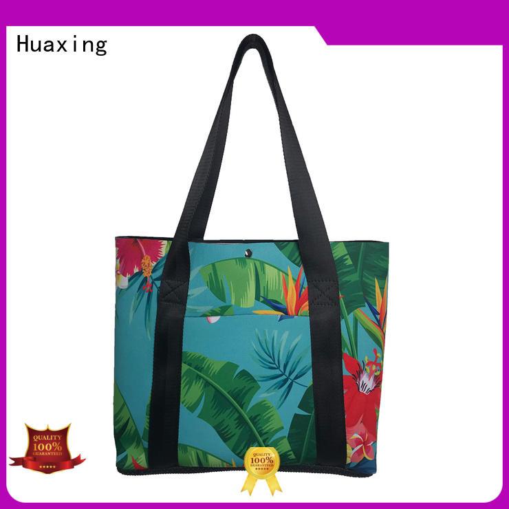 Huaxing shopping neoprene beach bag wholesale for computer