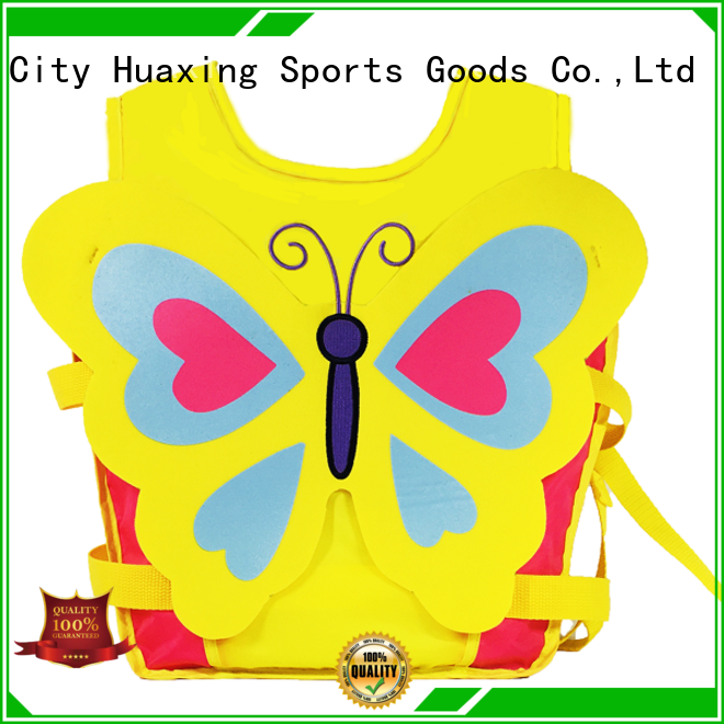 Huaxing floating boys swim vest producer for swimming