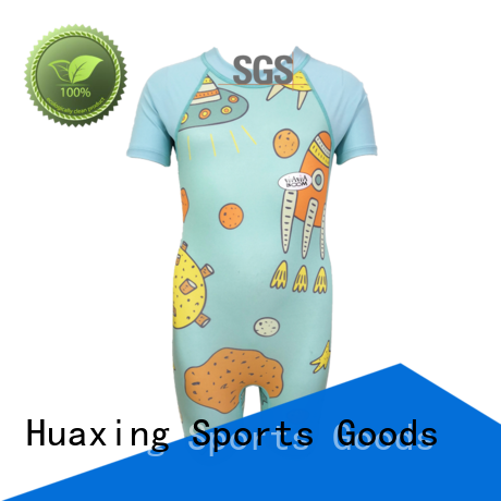 Huaxing fabric rash guard for men factory price for wakeboarding