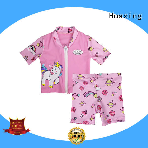 Huaxing your womens rash guard swimsuit wholesale for bodysurfing