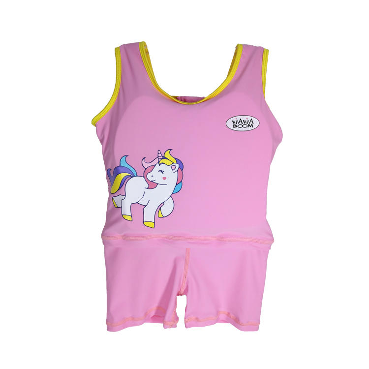 Factory Supply Lycra Floating Baby Swim Trainer Suit Infant Swim Vest