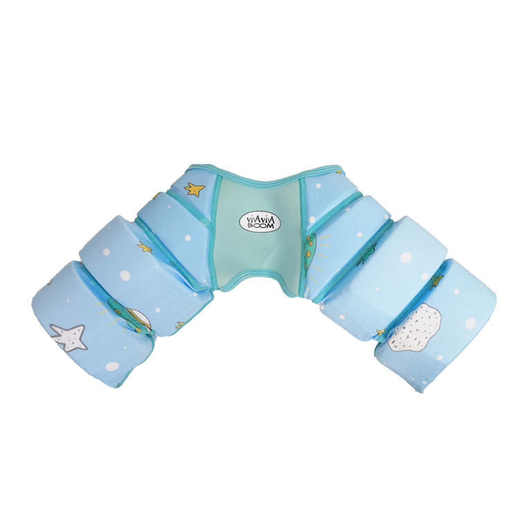 2019 cartoon design soft and cute kids swim vest child swim trainer device