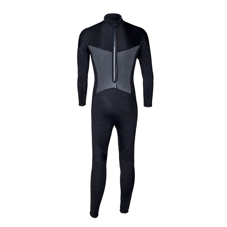 long sleeve wetsuit backzip from china for diving-2