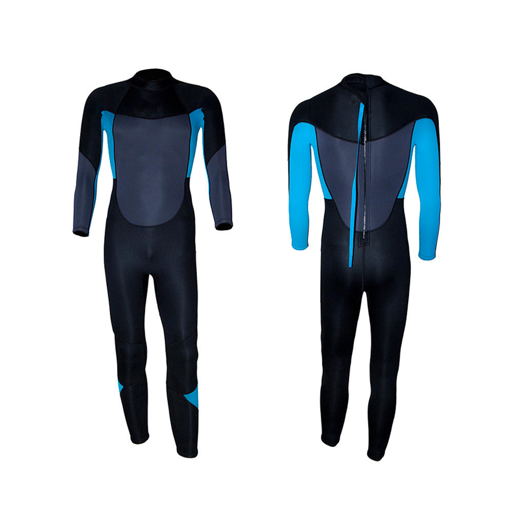 Men's Full Body Wetsuit with Backzip for Surfing, Swimming and Diving