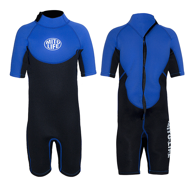 colorful kids wetsuits smooth from china for lake activities-1