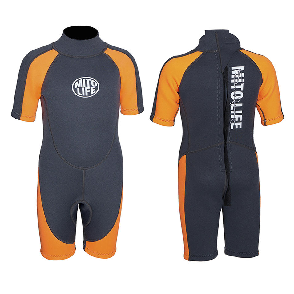 High quality with low price kids neoprene printing wetsuit surfing and diving wetsuit