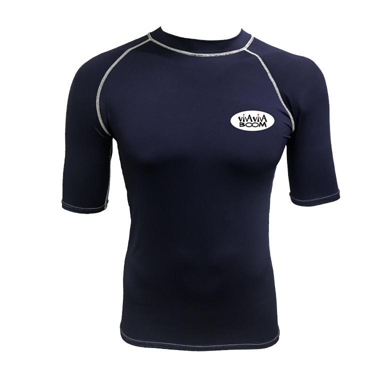 2019 New style custom sublimated short sleeve rash guard design your own rash guard