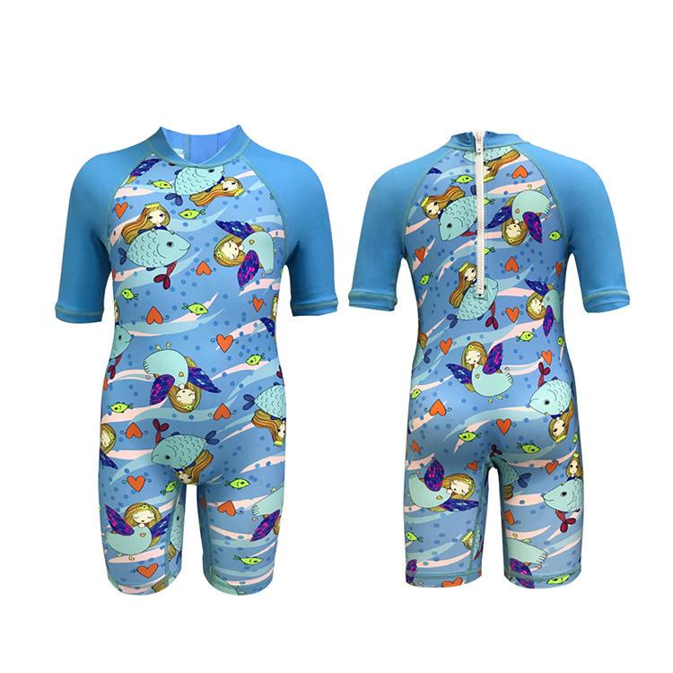 High quality short sleeve kids personalized rash guard upf50+ rash guard
