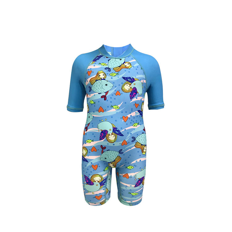 High quality short sleeve kids personalized rash guard upf50+ rash guard