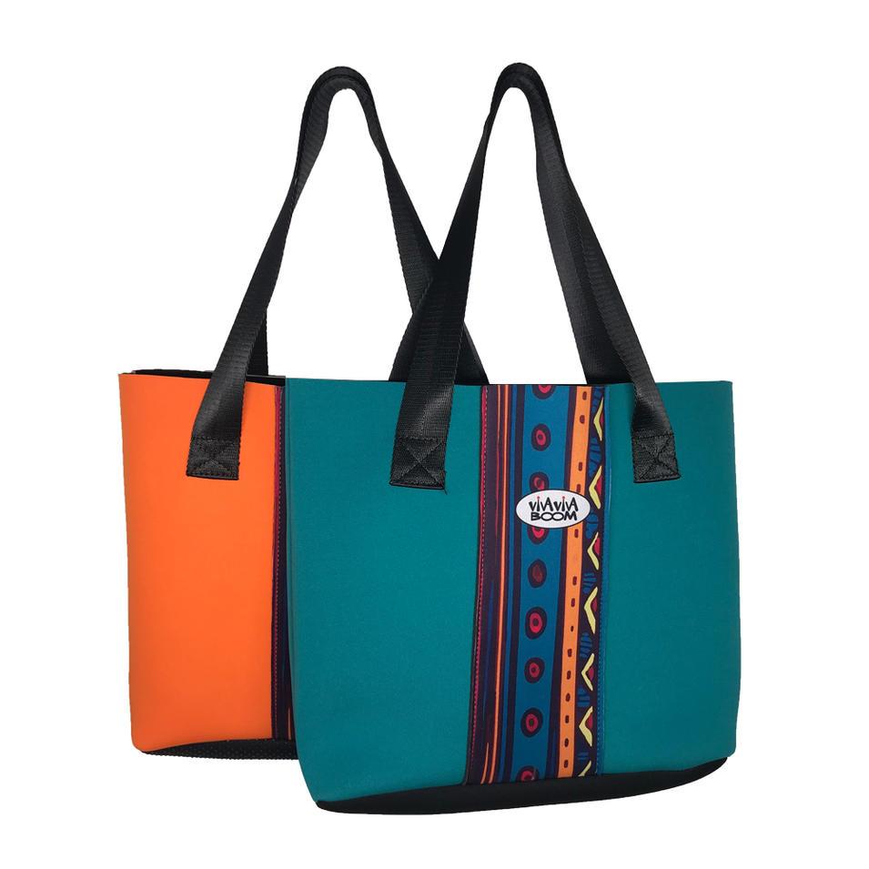 Fashion popular neoprene handbags women tote bag 2019 summer 100-499 Pieces $6.60 500-1999 Pieces $4.20>=2000 Pieces
