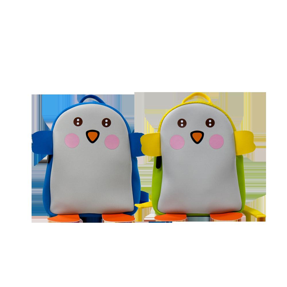 New Design Kids Cute Animal Pattern Neoprene Backpack
