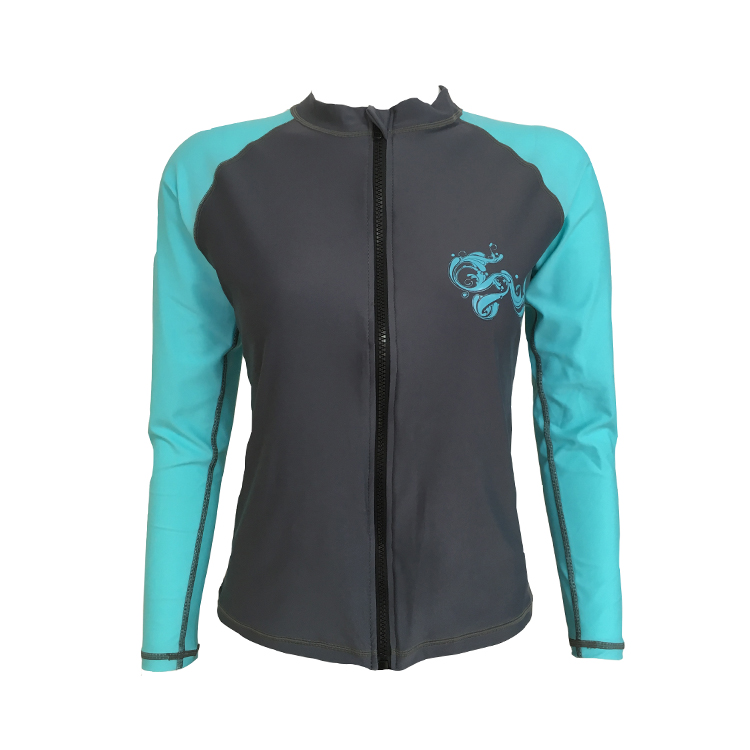 Huaxing comfortable ladies rash guard for kitesurfing-2