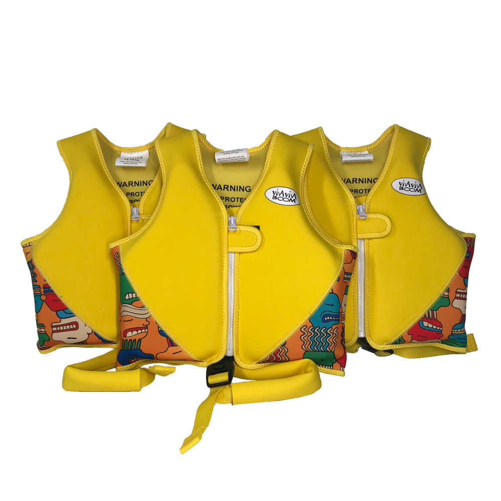 Huaxing colorful girls swim vest from manufacturer for swimming-1