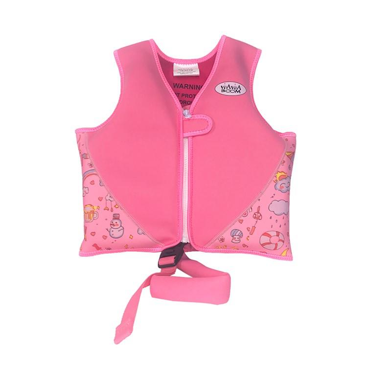 High quality child life jacket vest custom logo neoprene life vest