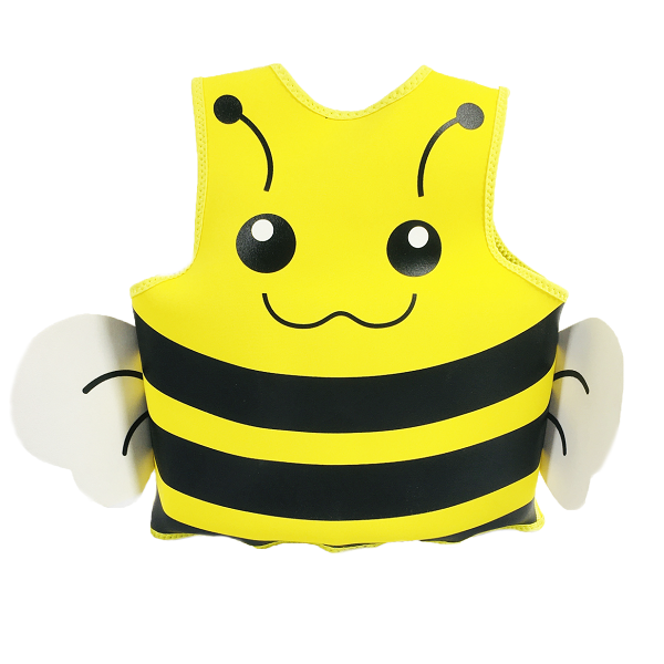 Newly designed bee swim vest for kids high quality custom swim vest