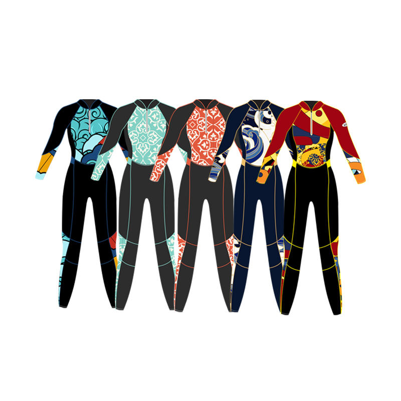 Factory Wholesale neoprene wetsuit  surfing suits diving suit swimming suit best sell